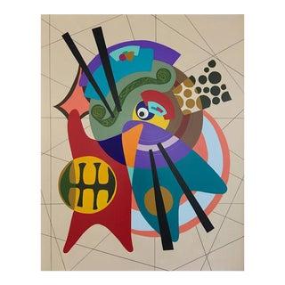 """Orbital"" Painting"