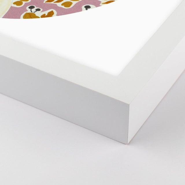 September by Theresa Drapkin in White Frame, Medium Art Print Overall Size: 31.5x36. Image Size: 30.5x35. Orientation:...