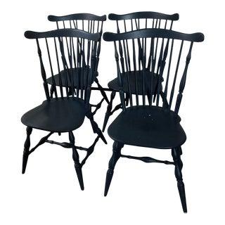 Vintage Haywood-Wakefield Windsor Chairs - Set of 4