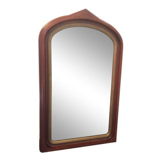 Early 20th Century American Wood Mirror For Sale