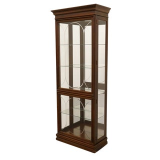 "Phillip Reinisch Co. 30"" Illuminated Display Curio Cabinet For Sale"