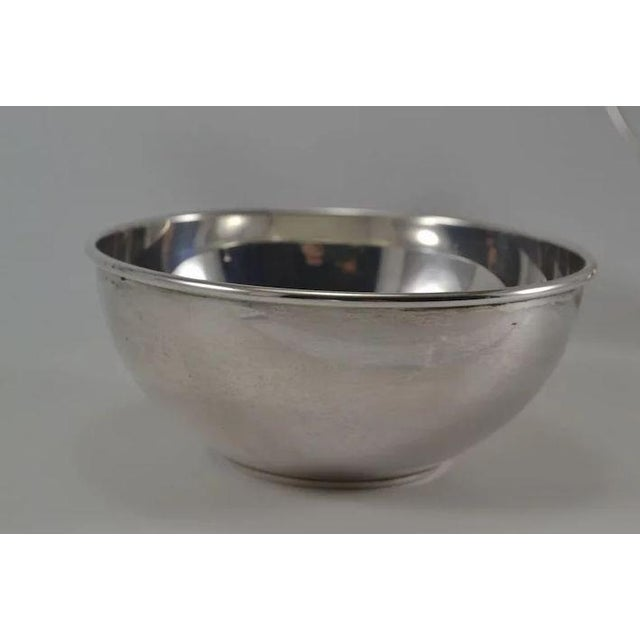 Gorham Sterling Silver Mid Century Modern Sugar & Creamer 772 773 For Sale - Image 6 of 10