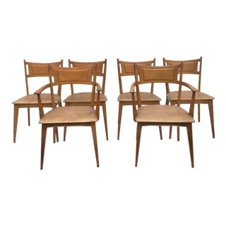 Mid-Century Modern Heywood Wakefield Dining Chairs - Set of 6