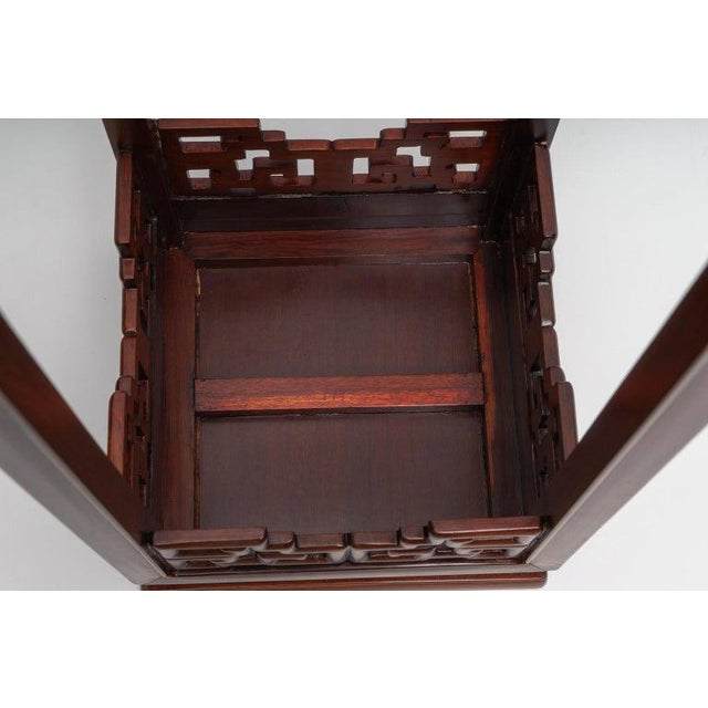 Chinese Rosewood Pedestals For Sale - Image 12 of 13