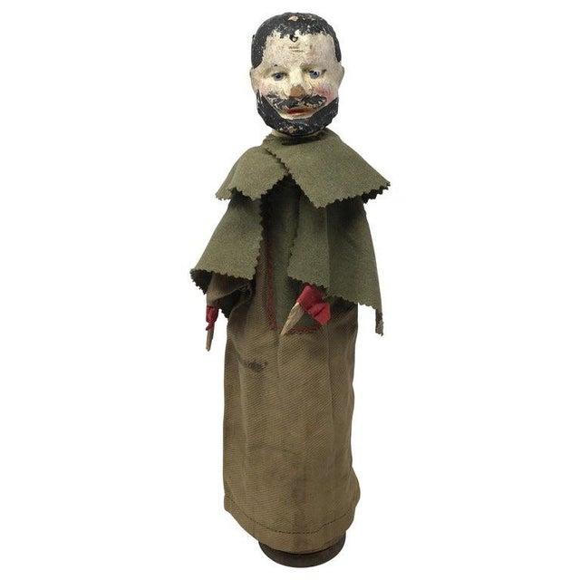 Folk Art Antique French Marionette For Sale - Image 3 of 8