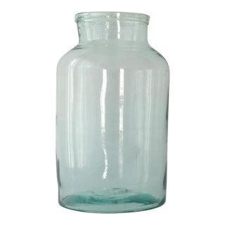 Vintage 8 Liter Hand Blown Glass Jar