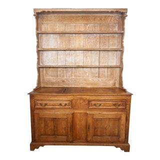 Early 20th Century Antique French Country Hutch For Sale