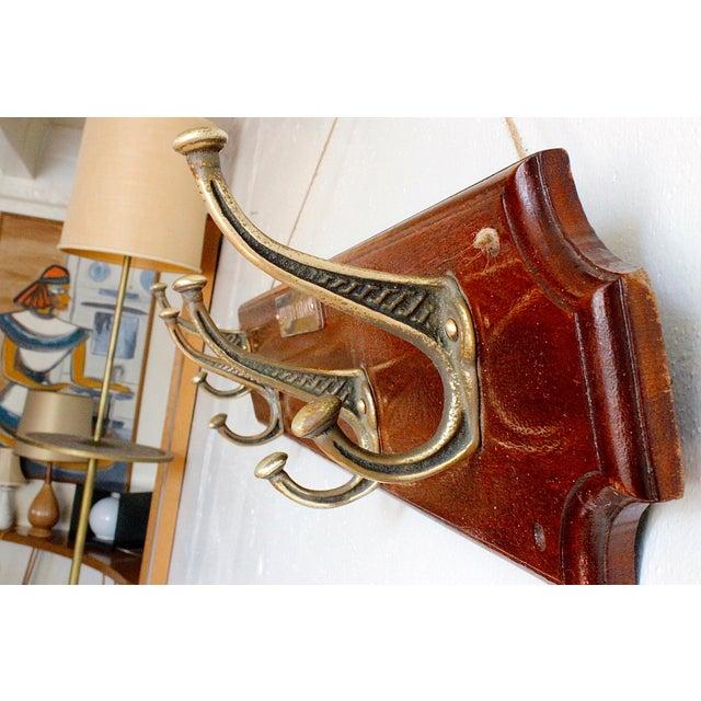 Officer's Saloon Hanging Coat Rack - Image 3 of 4