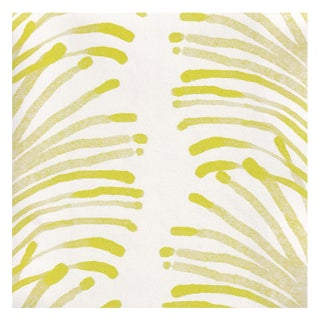 Pepper Emma Chartreuse Wallpaper - 20 yards For Sale