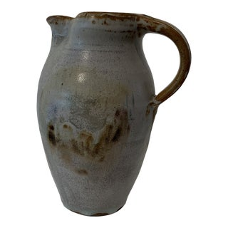 Vintage Studio Pottery Pitcher For Sale