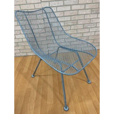Mid Century Modern Russel Woodard Sculptural Collection Patio Chairs - Pair For Sale In Chicago - Image 6 of 11