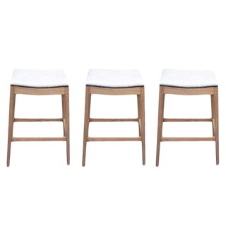 """Custom to Order """"The Color Hues"""" Collection Leather Stools"""