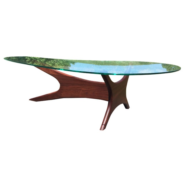Adrian Pearsall Biomorphic Coffee Table - Image 1 of 9
