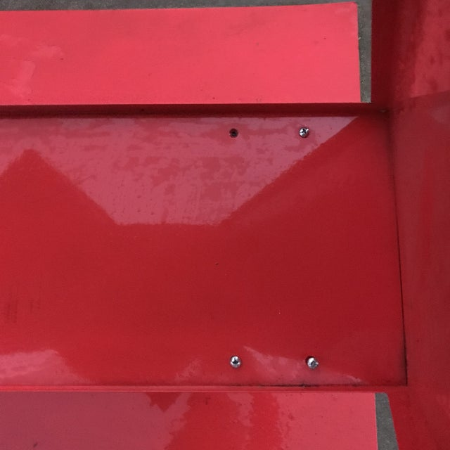 Red Abstract Sculpture For Sale - Image 10 of 11