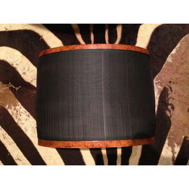Mid 19th Century 19th Century Biedermeier Burr Walnut Footstool Upholstered in Horsehair For Sale - Image 5 of 5