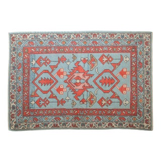 """New Oushak Rug - 4'1"""" X 5'10"""" For Sale"""