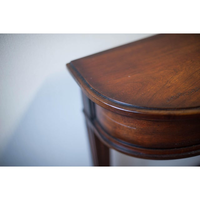 Sherrill Occasional Console Table For Sale - Image 5 of 10
