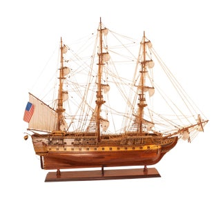 Vintage Americana Ship's Model For Sale