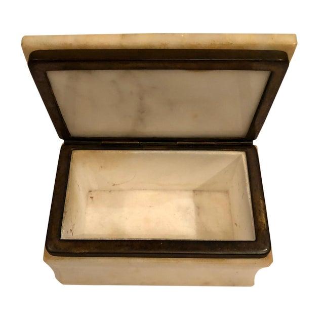 Italian 1940s Italian Marble Box For Sale - Image 3 of 8
