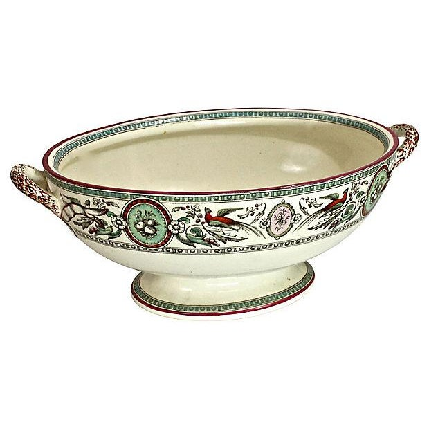 Antique French Chinoiserie Soup Tureen - Image 9 of 9