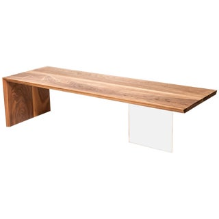 Coffee Table in Wood by Fred Rossi For Sale