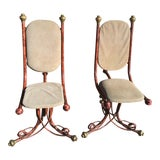 Image of Arthur Court Brutalist Chairs - a Pair For Sale
