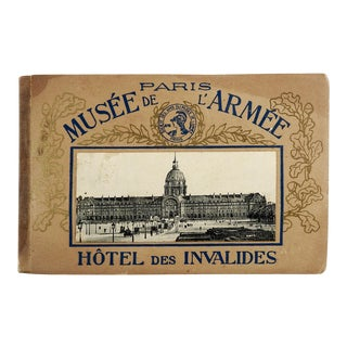 Antique French Photo Pamphlet Musee De L'Armee, Hotel Des Invalides For Sale