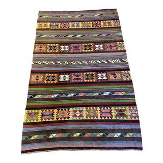 Vintage Kilim Turkish Rug For Sale