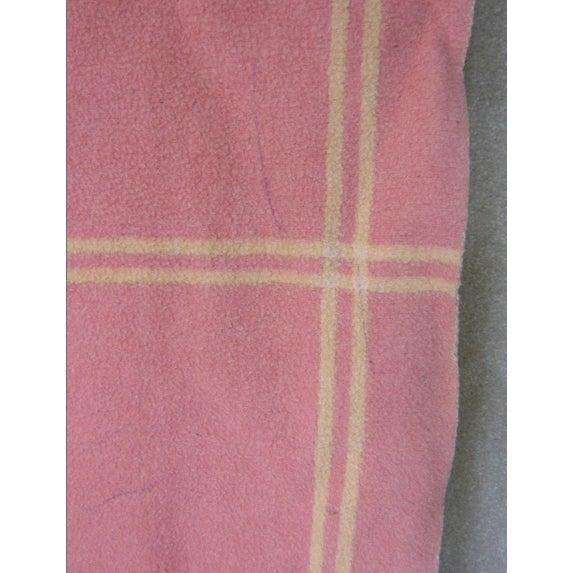 Vintage Pink & Orange Reversible Camp Blanket - Image 6 of 6