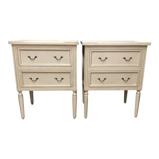 Julia Gray Nightstands - A Pair For Sale