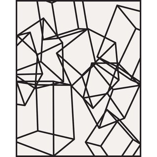 Cubes 1 1/4 Inch Thick Acrylic Glass by Alejandro Franseschini Print For Sale