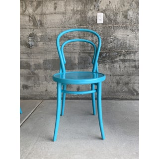 "Design Within Reach Thonet Turquoise ""Era"" Chairs- Set of 4 Preview"