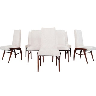 Mexican Modernist Dining Chairs by Eugenio Escudero For Sale