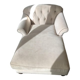 Arhaus Tufted Chaise Lounger