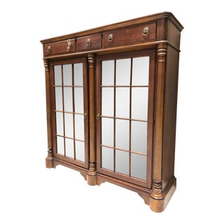 Pennsylvania House Library Lawyer Bookcase For Sale