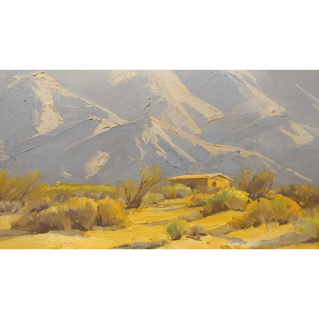 Darving Duncan - Beautiful California Desert Landscape-Impressionsit -oil Painting - Image 4 of 10