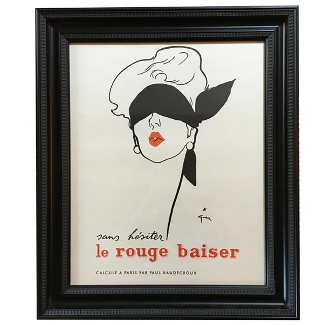 Le Rouge Baiser Print - Image 1 of 2