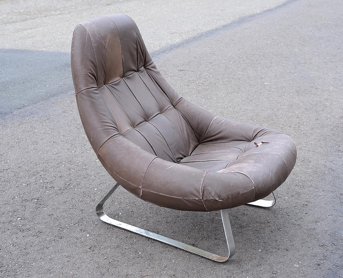 Mid Century Modern Space Age Percival Lafer Earth Chair   Image 2 Of 10