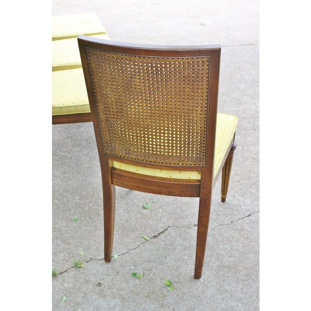 Hickory Directoire Style Dining Chairs - Set of 4 - Image 8 of 10