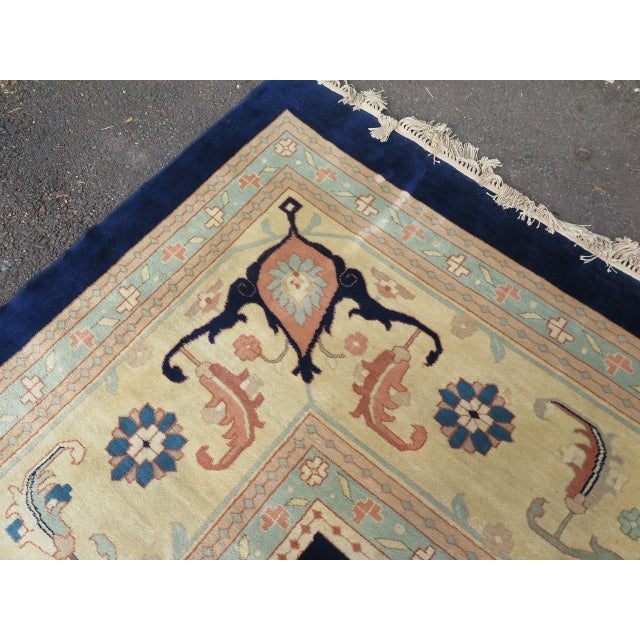 Persian Heriz Pattern Rug - 27' x 17' For Sale - Image 10 of 11
