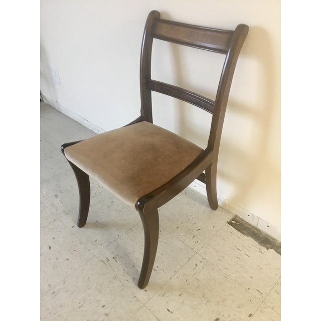 Brown Early 20th Century Antique Chairs - Set of 4 For Sale - Image 8 of 10