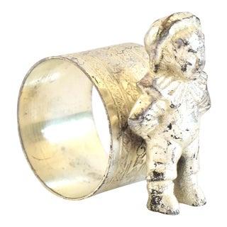 Vintage Figural Boy Napkin Ring For Sale