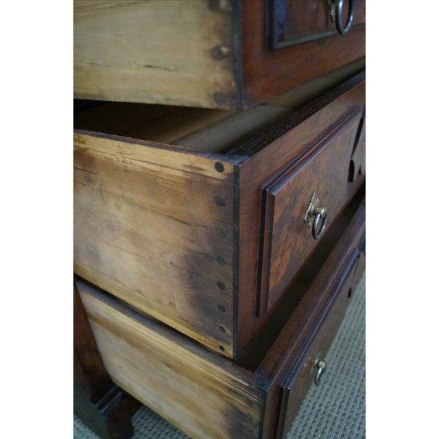Victorian Walnut Cylinder Roll Secretary Desk - Image 5 of 10