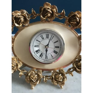 Mid-Century Hollywood Regency Electric Clock Preview
