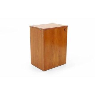 Erik Buch Portable Bar Cabinet or Bar Cart on Casters Teak, All Original Preview