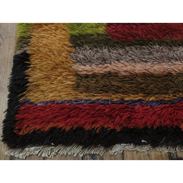 """Textile """"Contemplation,"""" Tulu Rug For Sale - Image 7 of 9"""