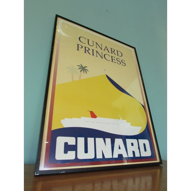 1983 Cunard Line Travel Posters - A Pair - Image 4 of 8