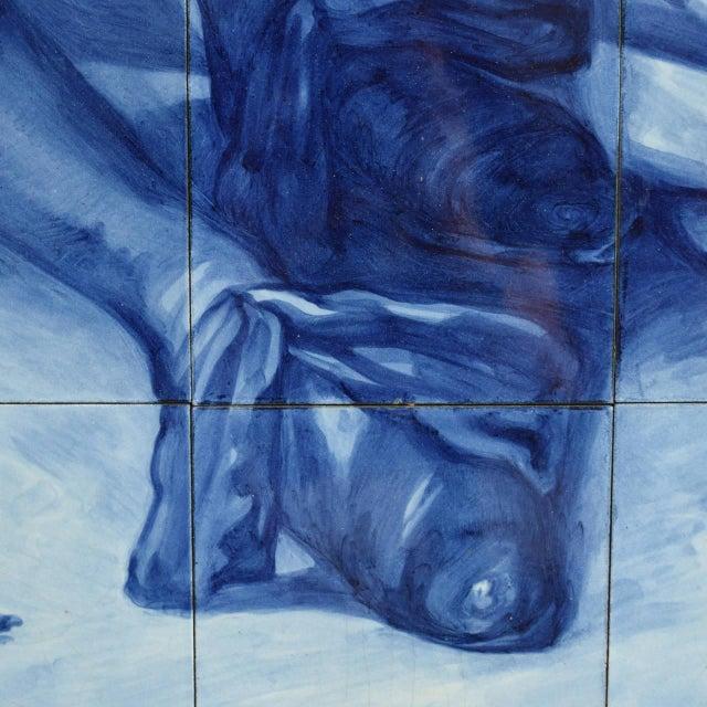 Rare Delft Tile Mosaic - Image 5 of 7