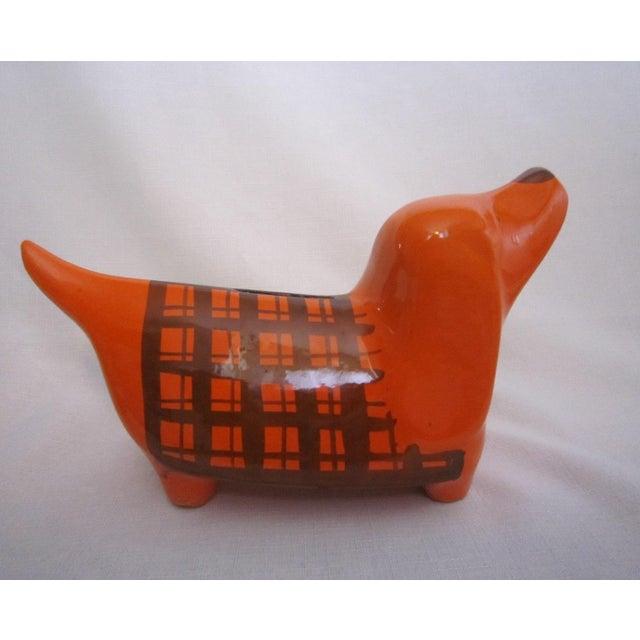 Italian Orange Dog Piggy Bank - Image 2 of 5