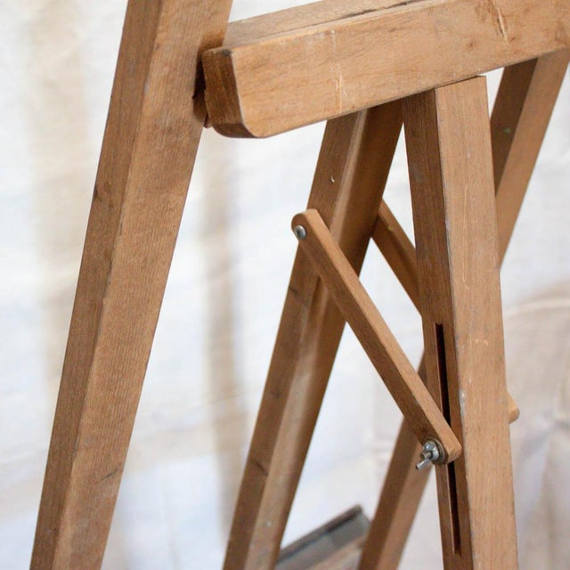Vintage French Adjustable Painter's Easel - Image 6 of 7